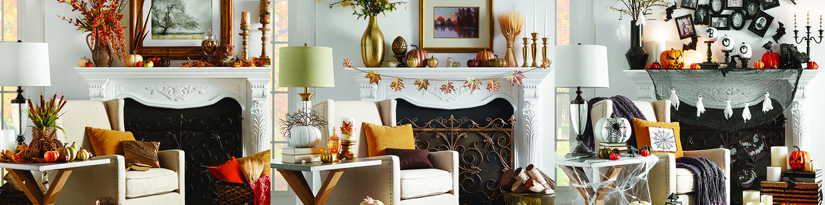 iNSPIRE Q Fall Holiday Mantle Decor