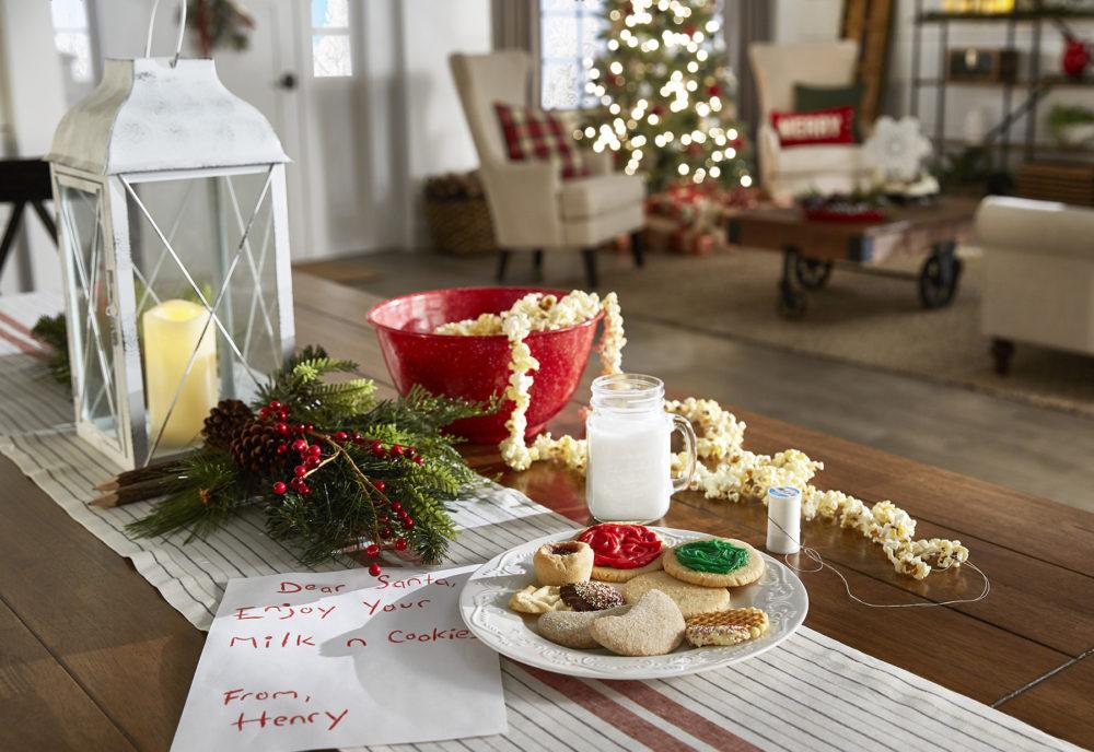 iNSPIRE Q Farmhouse Holiday Decor-- Christmas cookie countertop