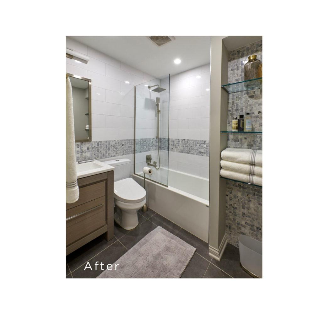 hall bathroom after