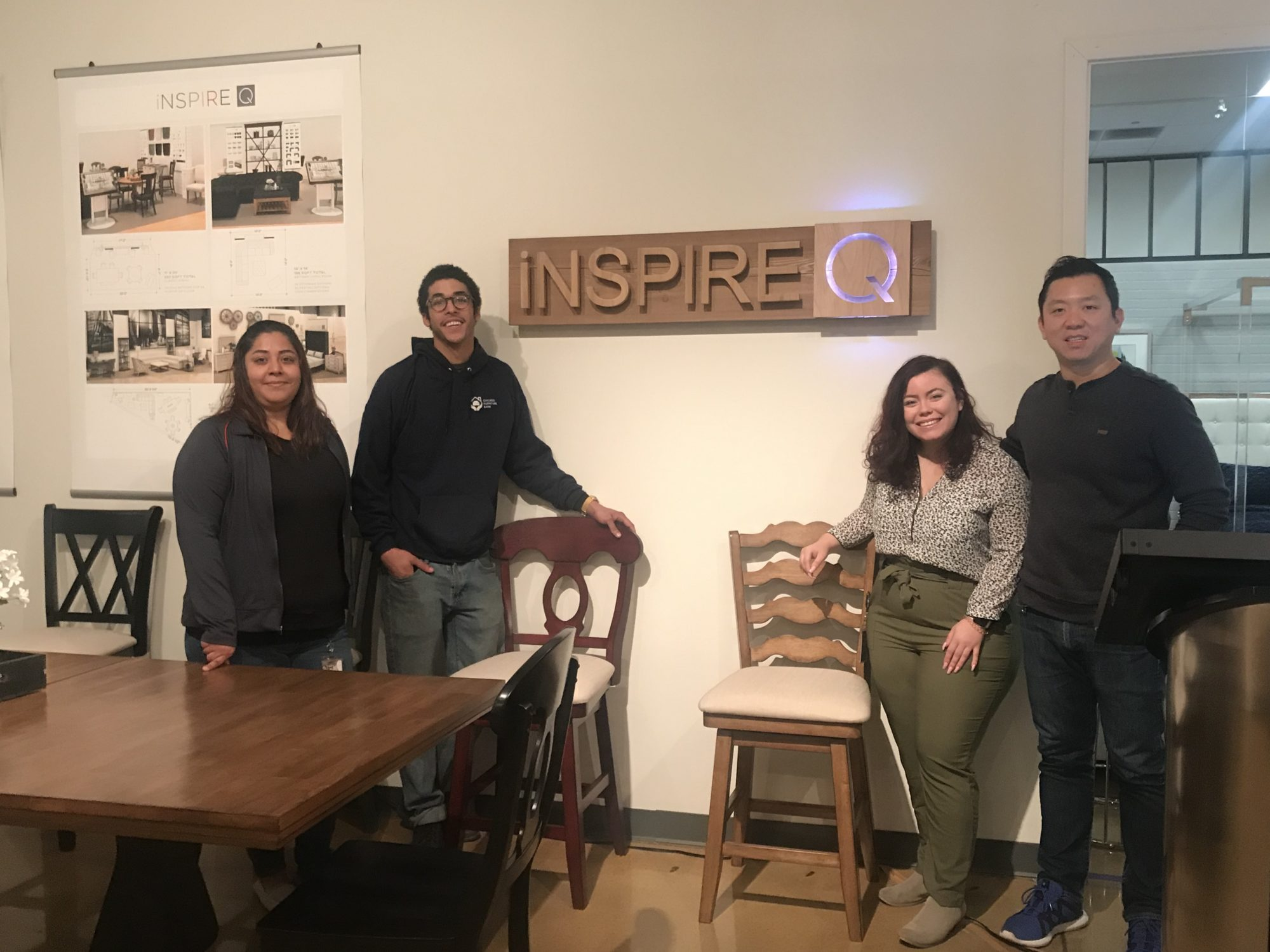 #iNSPIREQCARES with the Chicago Furniture Bank